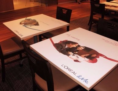 Custom Table Graphics